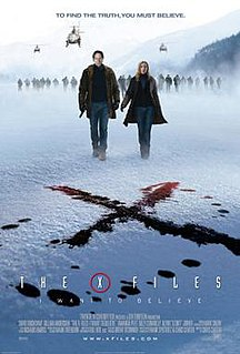 <i>The X-Files: I Want to Believe</i> 2008 science fiction film