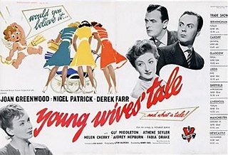 <i>Young Wives Tale</i> 1951 film by Henry Cass