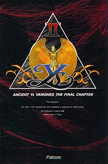 <i>Ys II: Ancient Ys Vanished – The Final Chapter</i> 1988 video game