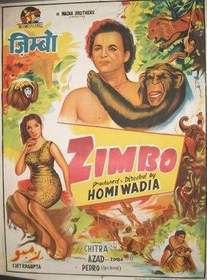 Zimbo (film) - Image: Zimbo 1958