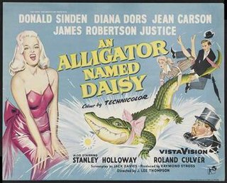 <i>An Alligator Named Daisy</i> 1955 film by J. Lee Thompson