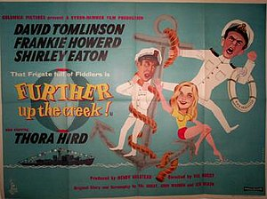 Further Up the Creek - UK theatrical poster