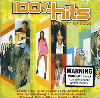 100% Hits: The Best of 2004 - Image: 100% Hits The Best of 2004