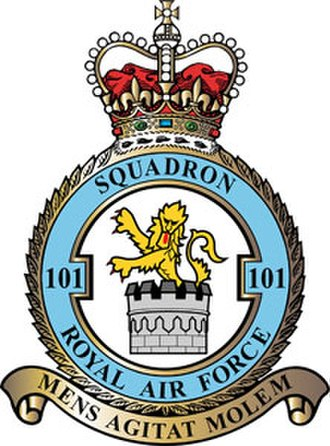 No. 101 Squadron RAF - 101 Squadron badge