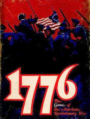 1776 (boardgame) - Picture of game box cover