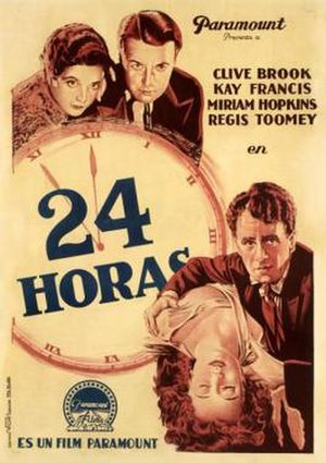 24 Hours (1931 film) - Spanish poster