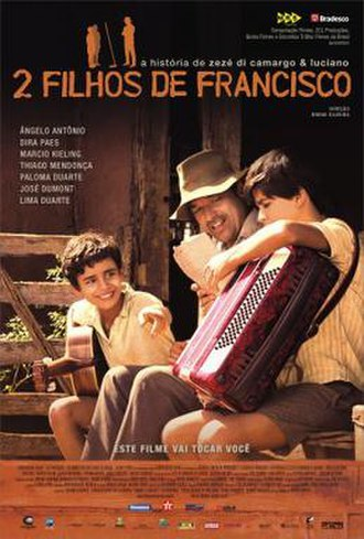 Two Sons of Francisco - Brazil poster