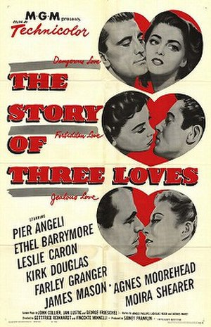 The Story of Three Loves - Theatrical release poster