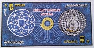 Livatu - Design of the 5 tuvatu note