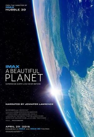 A Beautiful Planet - Theatrical release poster