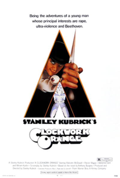 Picture of a movie: A Clockwork Orange