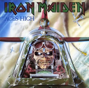 Aces High (song) - Image: Aces High (Iron Maiden single cover art)