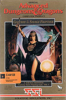 <i>Gateway to the Savage Frontier</i> 1991 video game