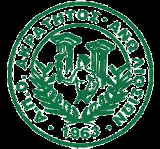 Akratitos F.C. - Image: Akratitos badge