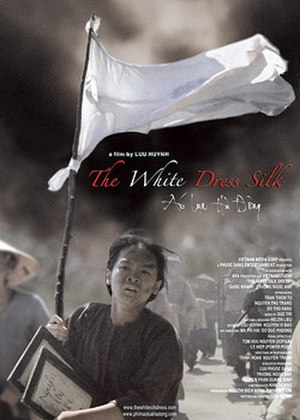 The White Silk Dress - The film poster.