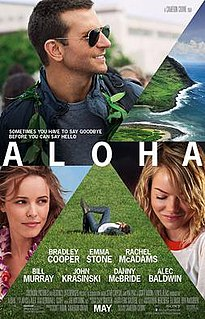 <i>Aloha</i> (2015 film) 2014 film by Cameron Crowe