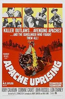 <i>Apache Uprising</i> 1965 film by R. G. Springsteen