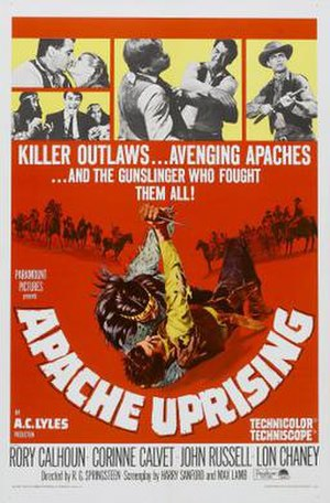 Apache Uprising - Theatrical release poster