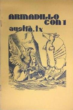 ArmadilloCon 01 Program Book cover