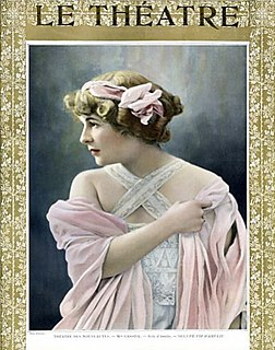 Armande Cassive French stage actress
