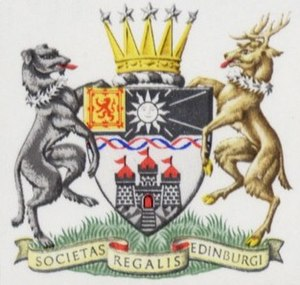 Royal Society of Edinburgh - Image: Arms of the Royal Society of Edinburgh