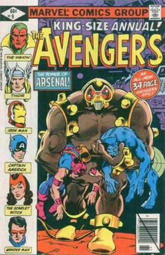Arsenal (Marvel Comics) - Image: Avengers Annual 9
