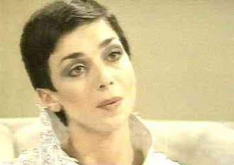 Blake's 7 - Jacqueline Pearce as Servalan.