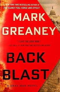 <i>Back Blast</i> book by Mark Greaney