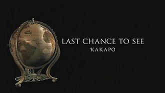 "Last Chance to See (TV series) - Title card from the ""Kakapo"" episode"