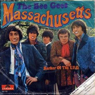 Massachusetts (Bee Gees song) - Image: Bee Gees Massachusetts