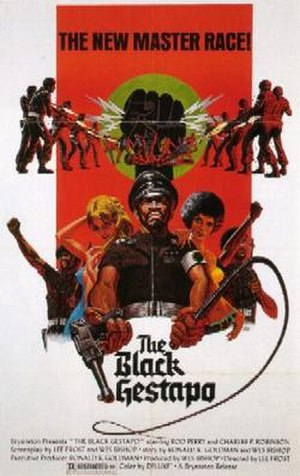The Black Gestapo - Theatrical release poster