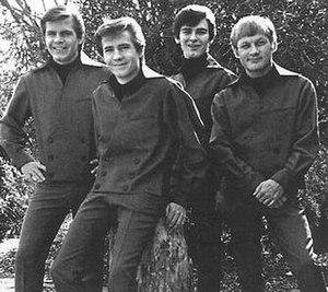 The Bobby Fuller Four - The Bobby Fuller Four in 1965 L-R Randy Fuller, Bobby Fuller, DeWayne Quirico and Jim Reese