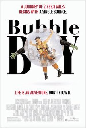 Bubble Boy (film) - Theatrical release poster