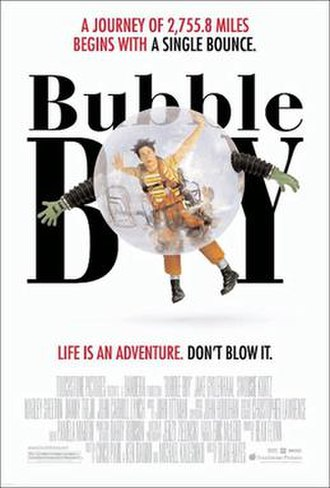 Bubble Boy (film) - Theatre poster