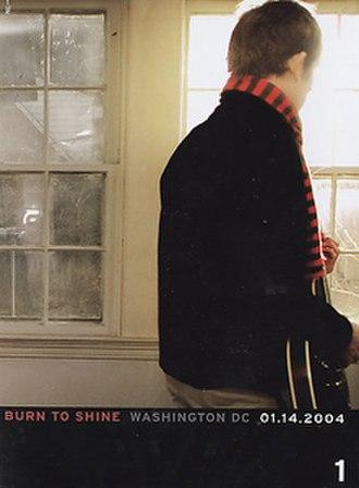 Burn to Shine (DVD series) - Volume 1: Washington DC