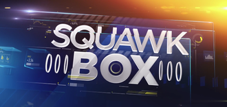Squawk Box - Logo from October 13, 2014 to December 31, 2015
