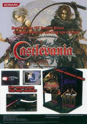 Castlevania: The Arcade - UK arcade flyer