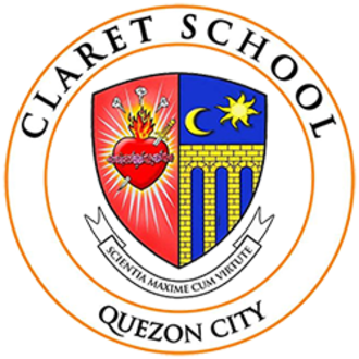 Claret School of Quezon City - Image: Claret coat of arms