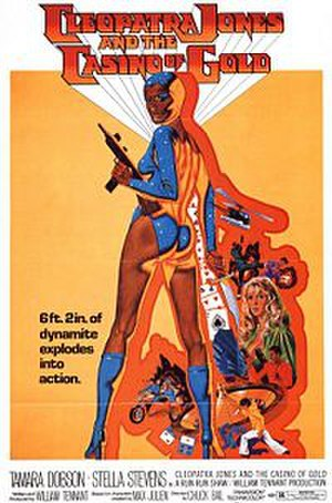 Cleopatra Jones and the Casino of Gold - Original film poster.