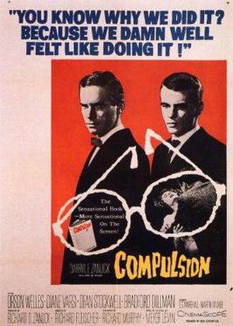 Compulsion (1959 film) - Image: Compulsion Poster