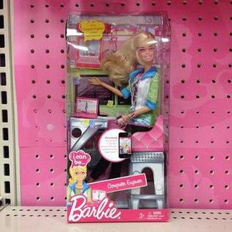Computer Engineer Barbie - Computer Engineer Barbie in its packaging