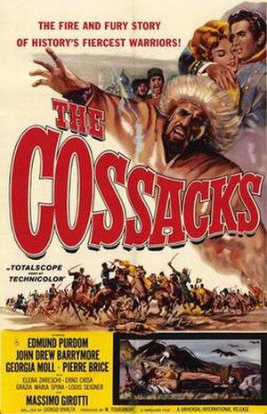 The Cossacks (1960 film) - Image: Cossacks movie poster 1960 1020354405