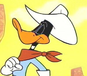 "Duck Dodgers - Duck Dodgers as seen in the 2003 Duck Dodgers episode ""Wrath of Canasta."""