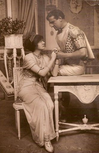 Two Merry Monarchs - Daisy le Hay and Roland Cunningham in Two Merry Monarchs