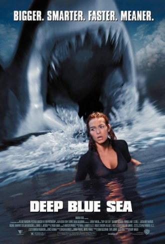 Deep Blue Sea (1999 film) - Theatrical release poster