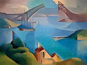 Dorrit Black - The Bridge (1930) by Dorrit Black