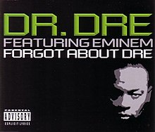 Dr. Dre featuring Eminem — Forgot About Dre (studio acapella)