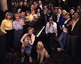 The cast of 1985