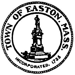 Official seal of Easton, Massachusetts