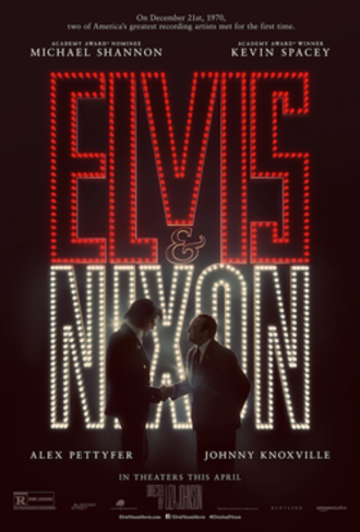 Elvis & Nixon - Theatrical release poster